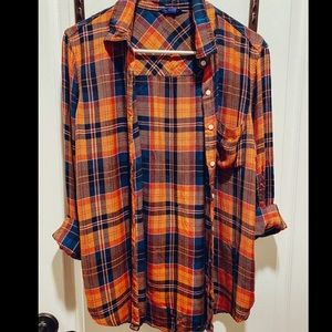 Aeropostale Girlfriend Flannel